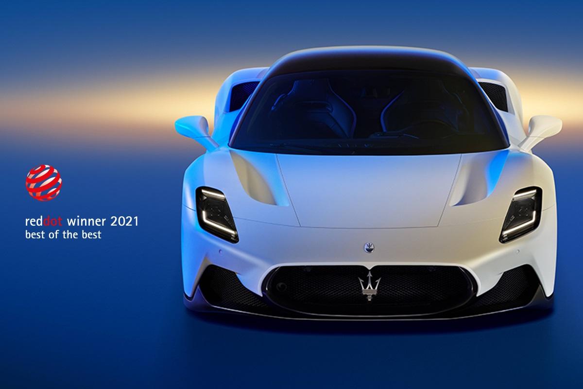 Maserati MC20: ganador del premio 'Best of the Best' en los Red Dot Awards 2021
