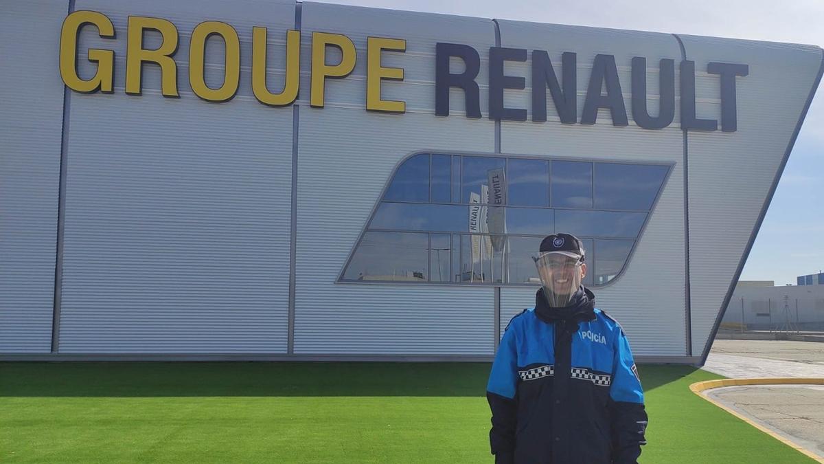 Coronavirus: «Renault al rescate» apoya a la Policía Municipal de Valladolid