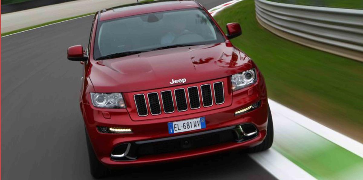 Ya a la venta en España el Jeep Grand Cherokee SRT