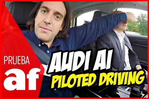 Probamos el sistema AI Piloted Driving del Audi A8, el primer coche del mundo capaz de conducir ´solo´