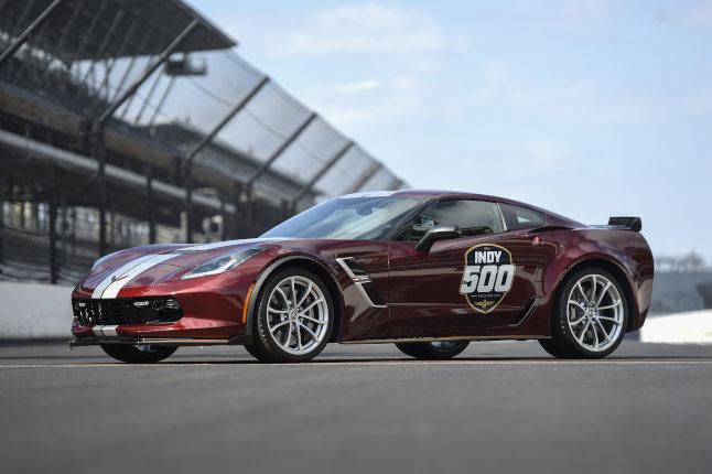 2019 indy500 corvette grandsport pacecar