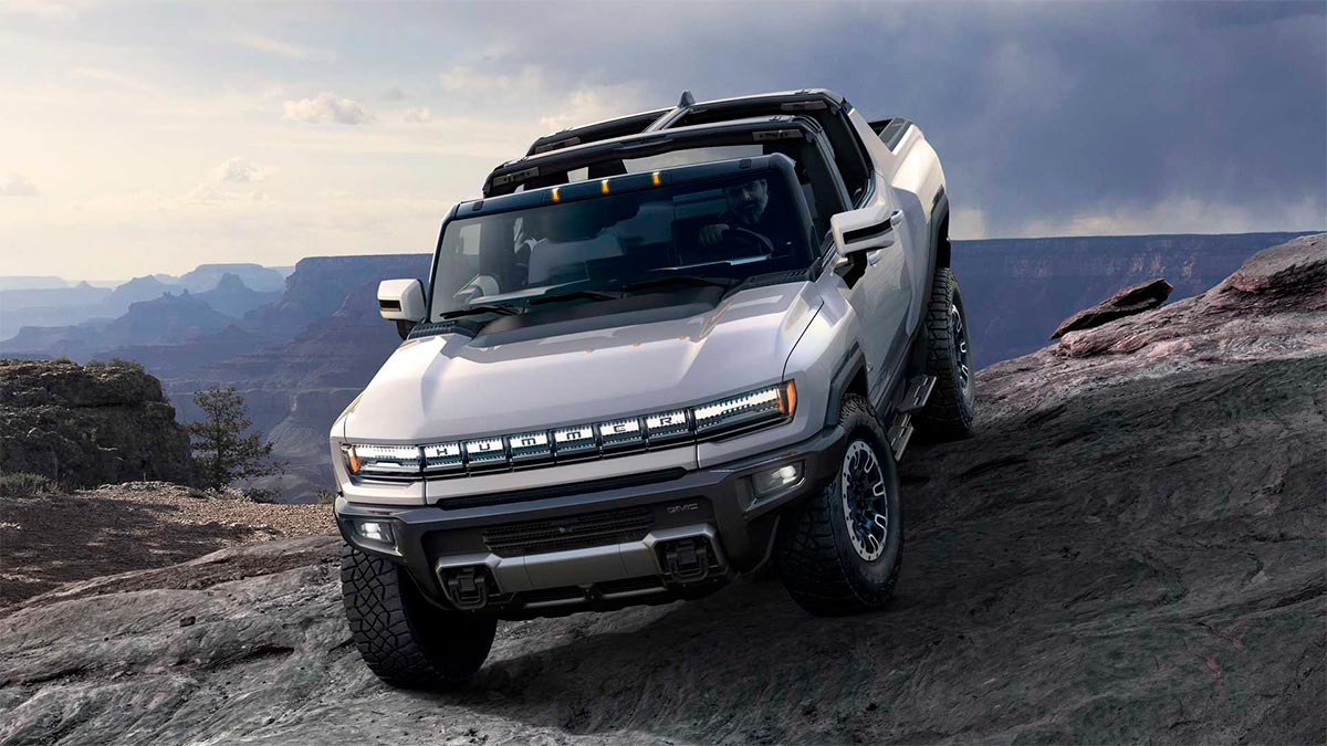 Nuevo GMC Hummer EV 2020: tiene más de 1.000 CV y es el todo terreno eléctrico más bestia