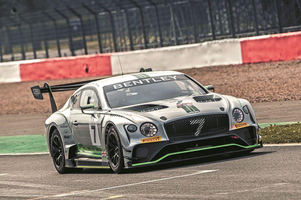 Prueba racing: Bentley Continental GT3