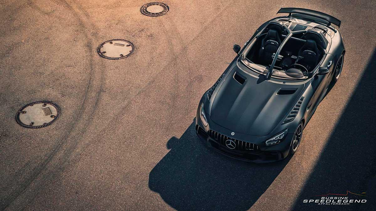 Bussink GT R SpeedLegend: oda al mítico Mercedes-Benz SLR Stirling Moss