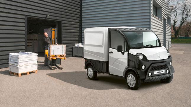 Aixam E-TRUCK, movilidad cero emisiones para los profesionales