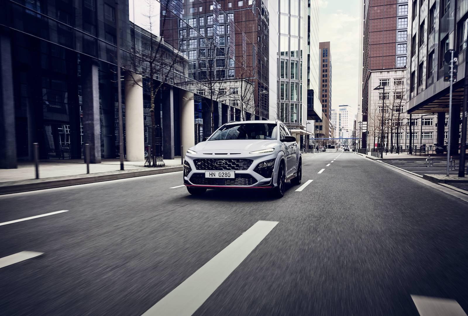 Nuevo Hyundai Kona N 2021: 280 CV para el SUV urbano más radical