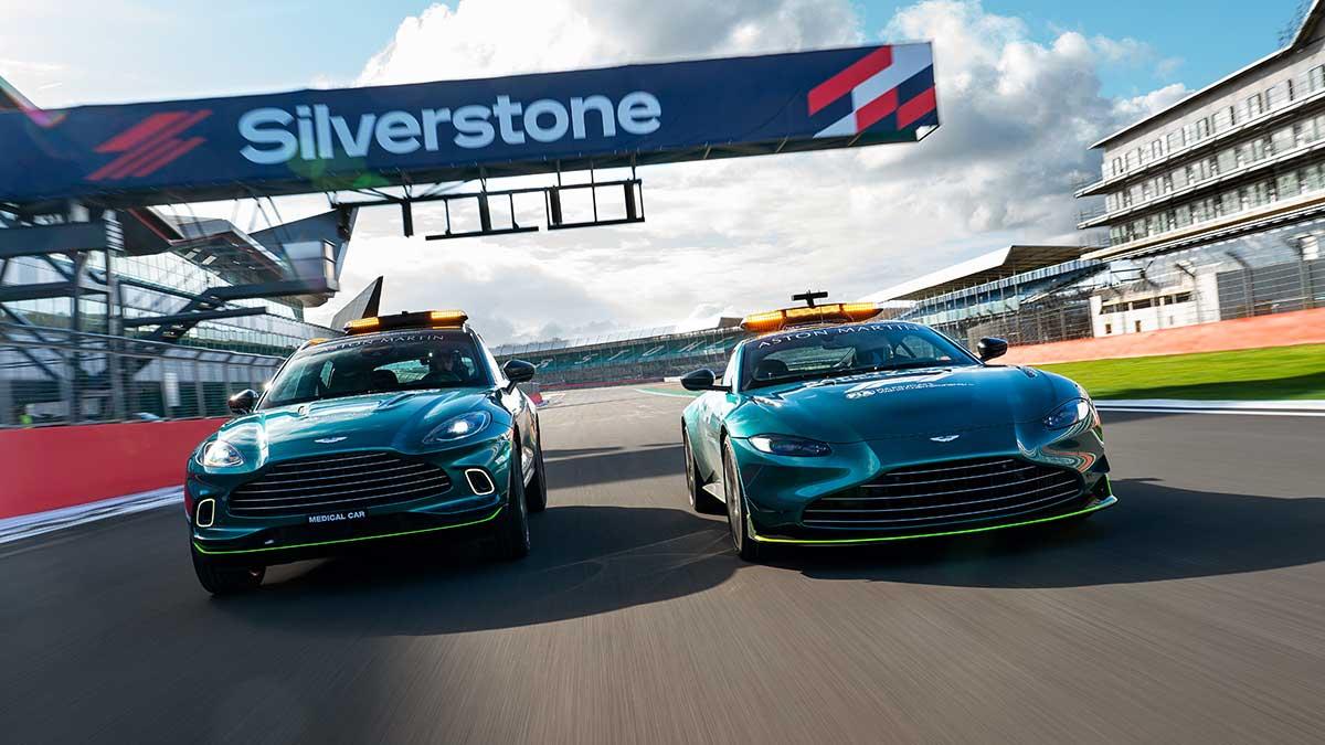 El Aston Martin Vantage, nuevo coche de seguridad oficial de la Fórmula 1