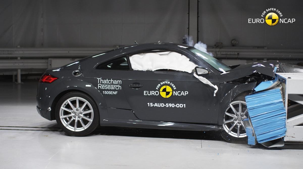El Audi TT logra cuatro estrellas euroNCAP