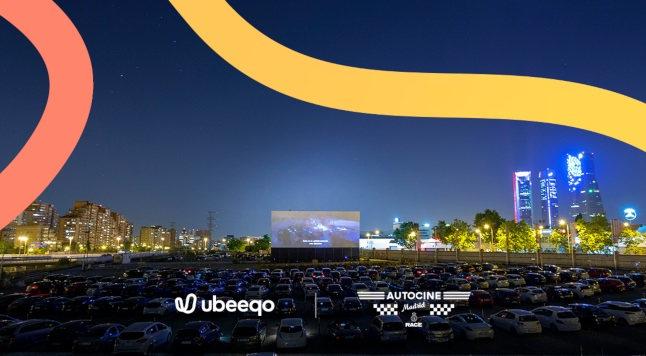 Autocine Madrid Race: disfruta de un plan de película con Ubeeqo