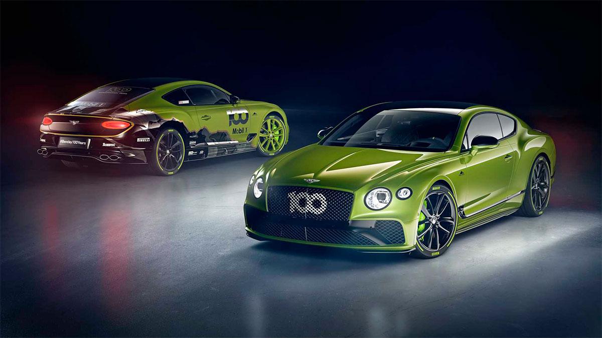 Bentley Continental GT Pikes Peak: nueva serie especial del exclusivo modelo británico