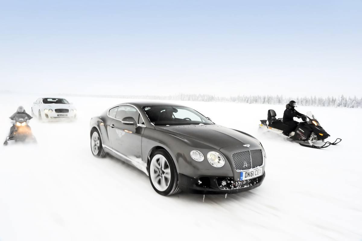 Bentley Power Ice 2015: lujo extremo en la nieve