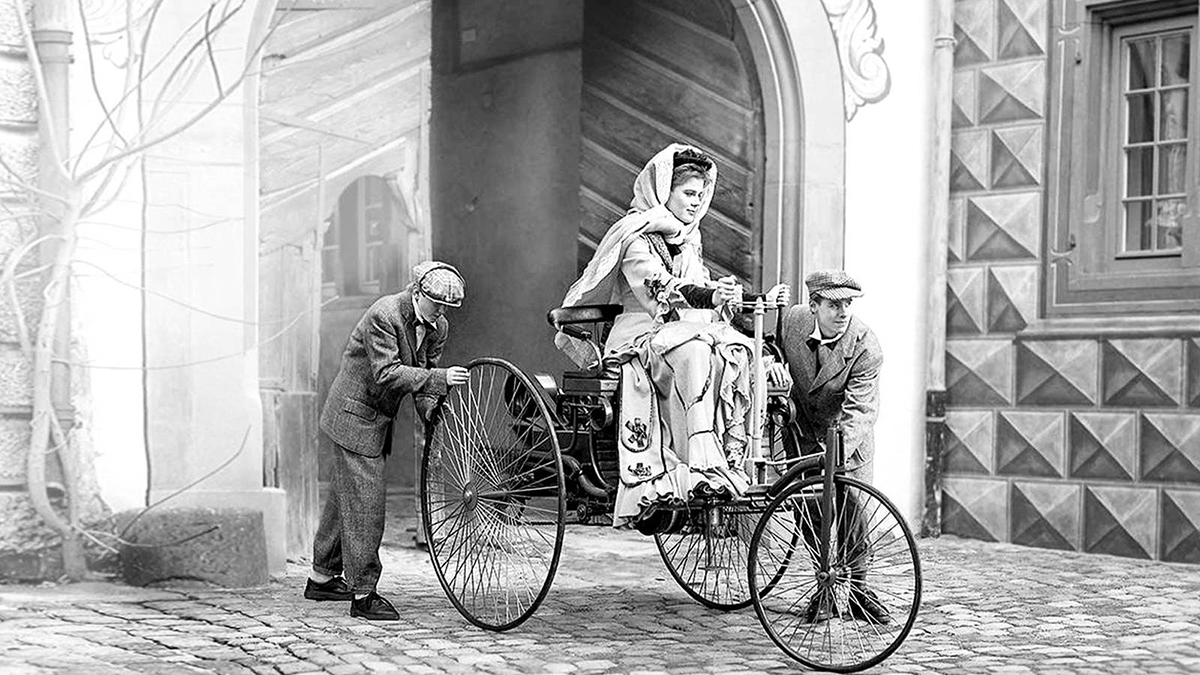 bertha benz la mujer que impulso el primer automovil de la historia 1