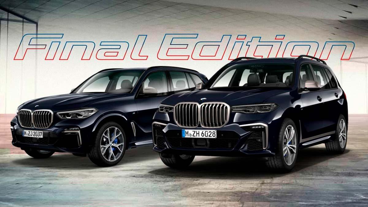 BMW X5 y X7 Final Edition: el adiós del motor diésel más potente