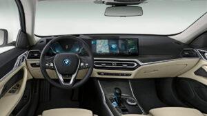 Fotos: Interior del BMW i4