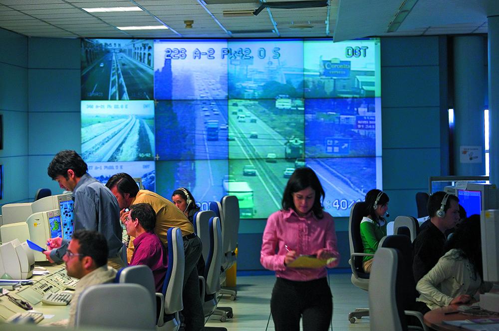 centro de gestion del trafico