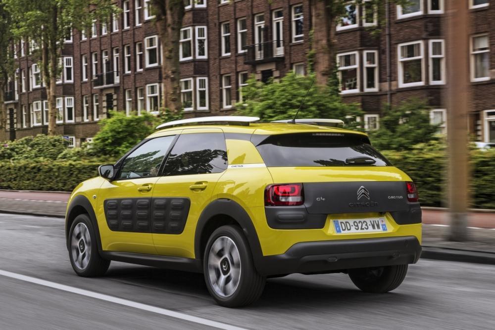 ¿Funcionan los 'Airbumps' del Citroën C4 Cactus?