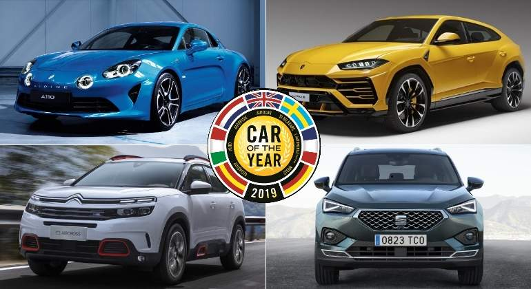 coche ano europa 2019 finalistas