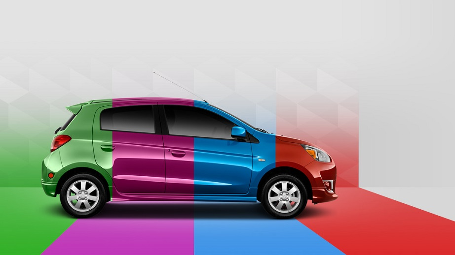 coche de colores