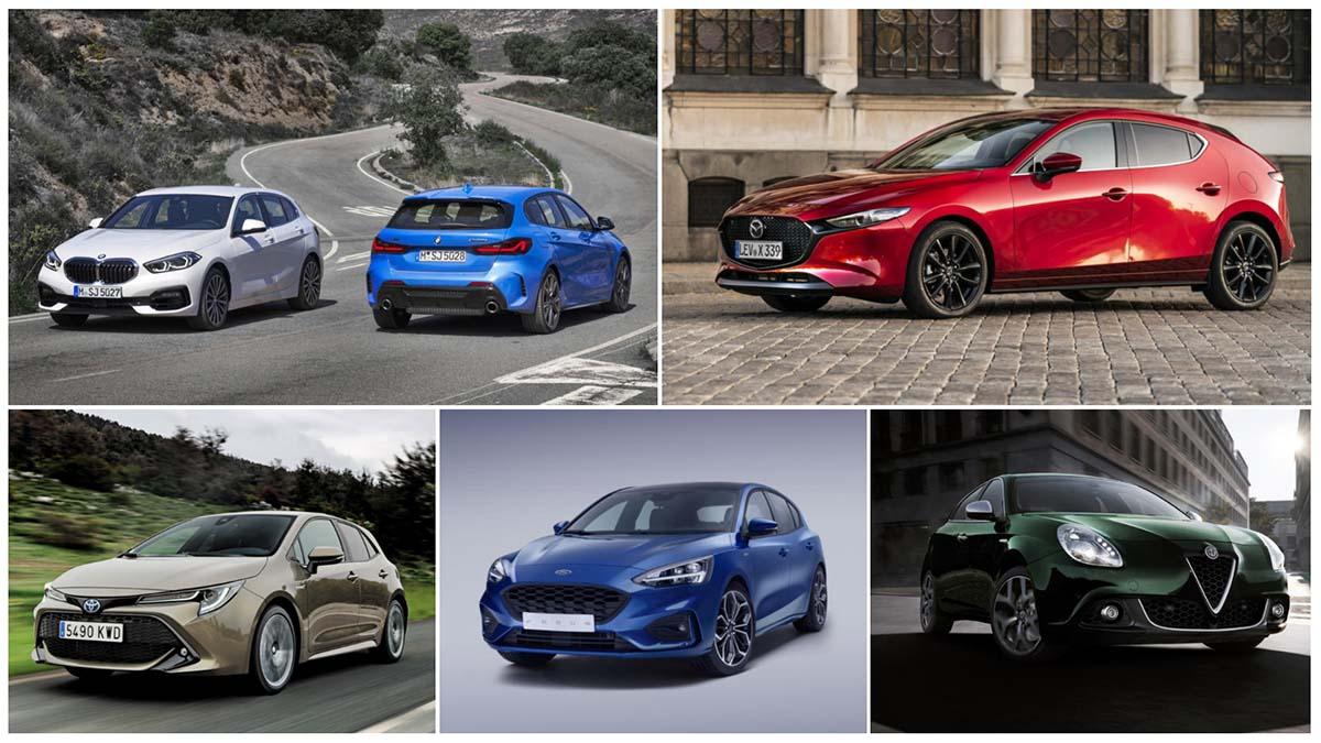 ¡Ofertones! Cinco coches compactos que puedes comprar por 180 euros al mes