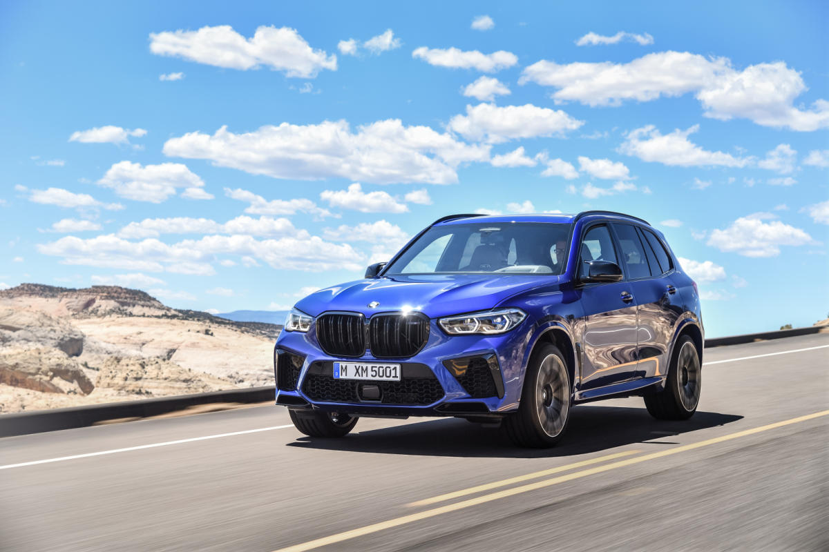 Primera prueba: BMW X5 M Competition 2020