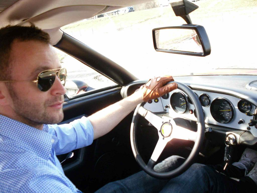 La importancia de la vista al conducir
