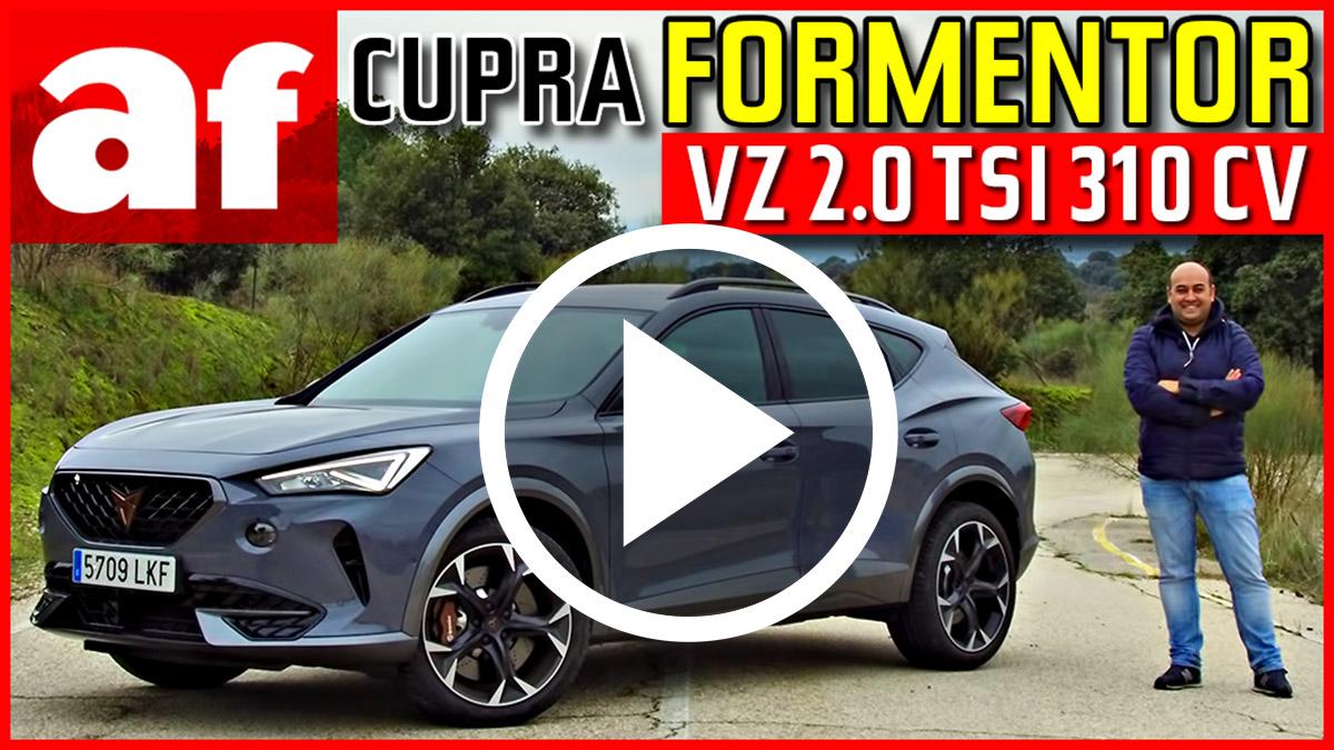 El nuevo Cupra Formentor 2021 a prueba: un SUV deportivo de verdad