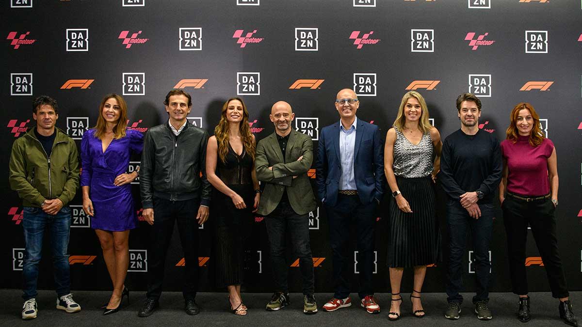 DAZN anuncia su programación de Fórmula 1 y MotoGP