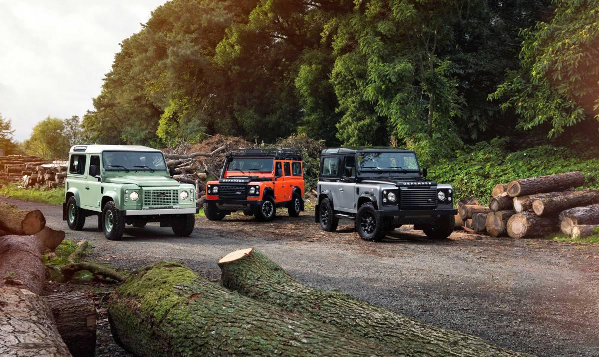 Así celebra el Land Rover Defender sus ediciones limitadas
