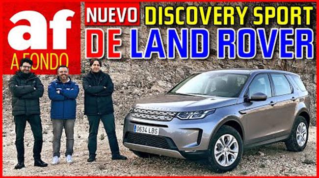 Nuevo Discovery Sport – Tecnología