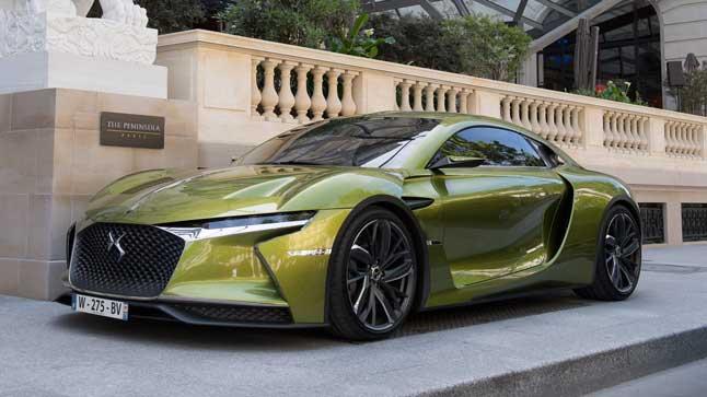 ds e tense concept car