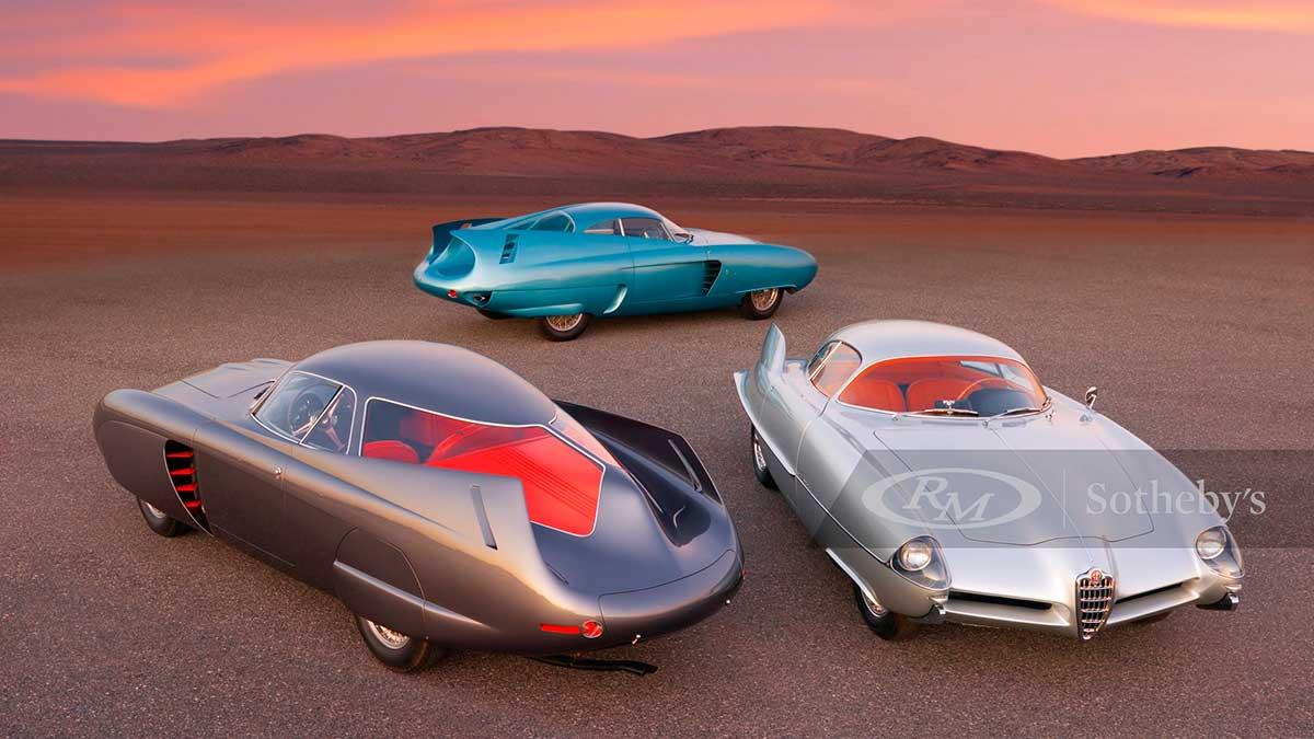 B.A.T. Alfa Romeo: los prototipos más famosos de la firma italiana salen a subasta
