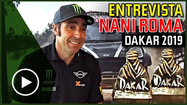 Vídeo: Hablamos con Nani Roma tras lograr el segundo puesto en el Dakar