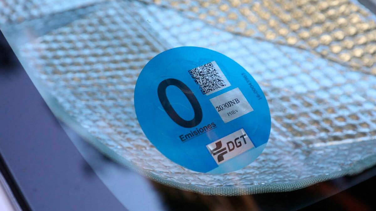 etiqueta 0 dgt significado ventajas 1