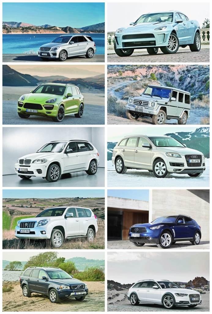 10 rivales para el Range Rover Sport