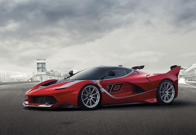 Vettel prueba el Ferrari FXX K