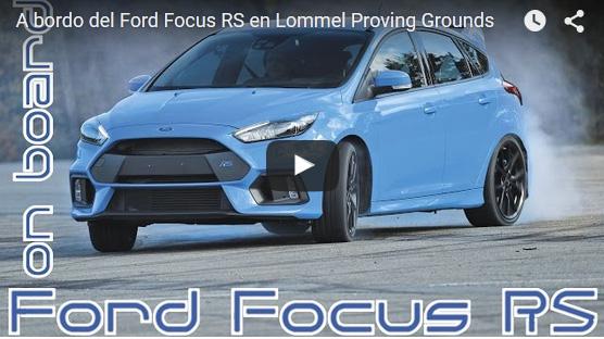 Ford Focus RS: ¿el futuro de la tracción total?