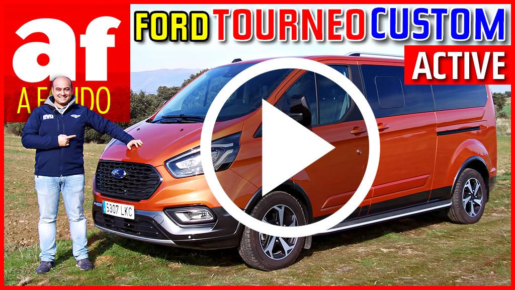 Vídeo: el Ford Tourneo Custom Active 2021, a fondo