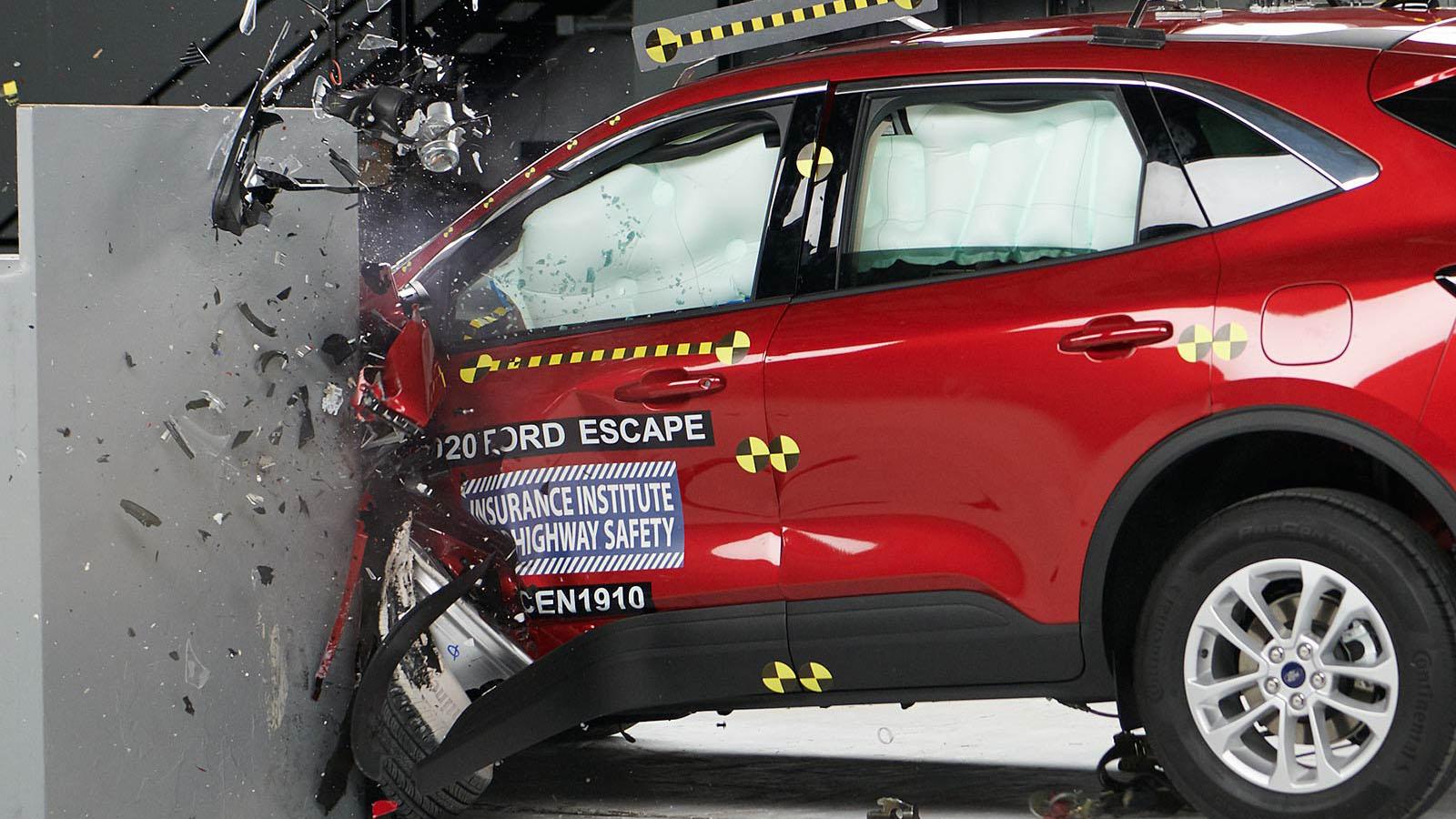 Ford Escape/Kuga 2020: este es su crash test en vídeo