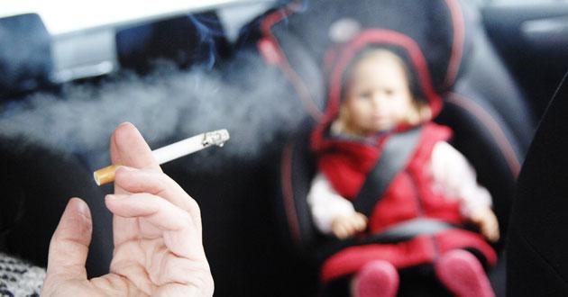 fumadores coche
