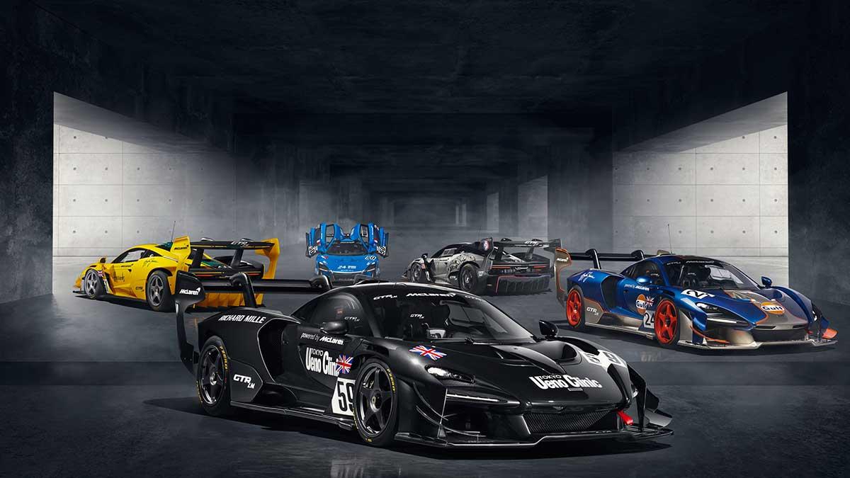 McLaren Senna GTR LM: un hypercar para pista exclusivo para cinco afortunados