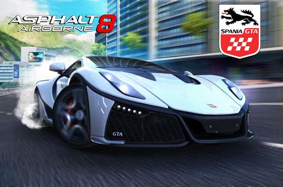 'Asphalt 8: Airborne' ya cuenta con el nuevo GTA Spano