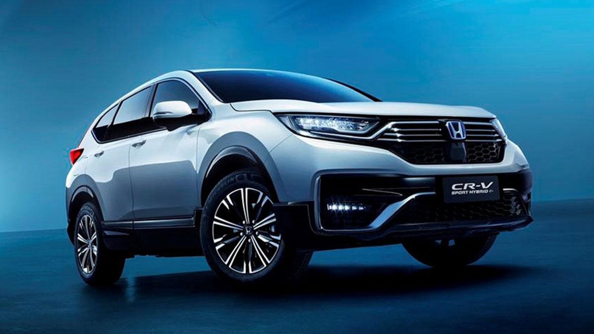 Honda CR-V 2021: el SUV japonés, ¡ahora en versión híbrida enchufable!