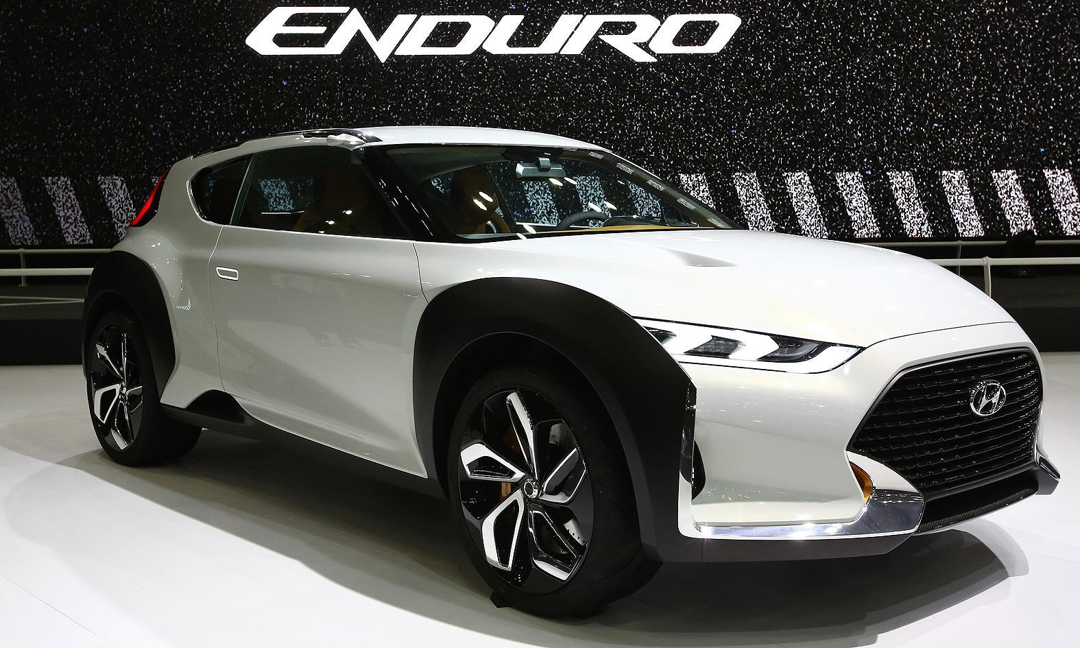 HND-12 Enduro Concept; así será el SUV urbano de Hyundai
