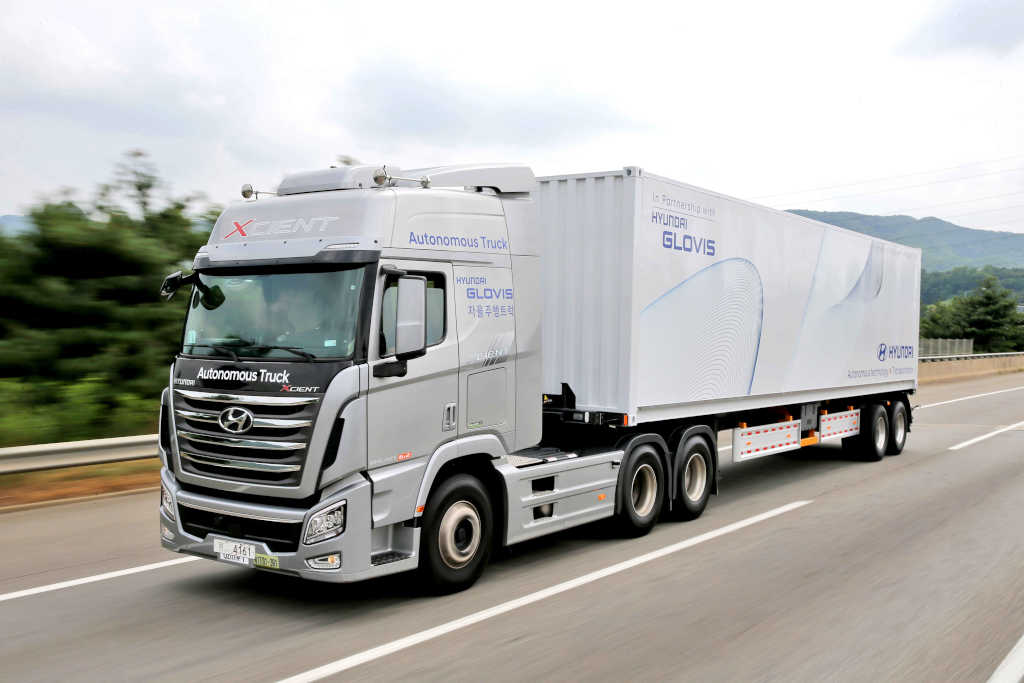 hyundais first domestic autonomous truck