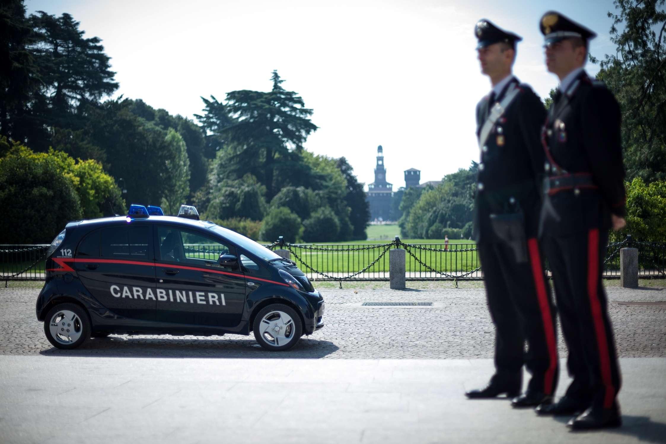 i miev carabinieri