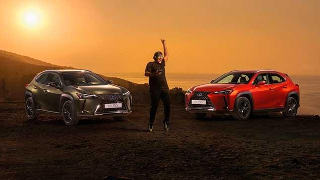 Vídeo: Lexus produce la primera 'sesión sostenible con Wally López' a 70 metros de altura
