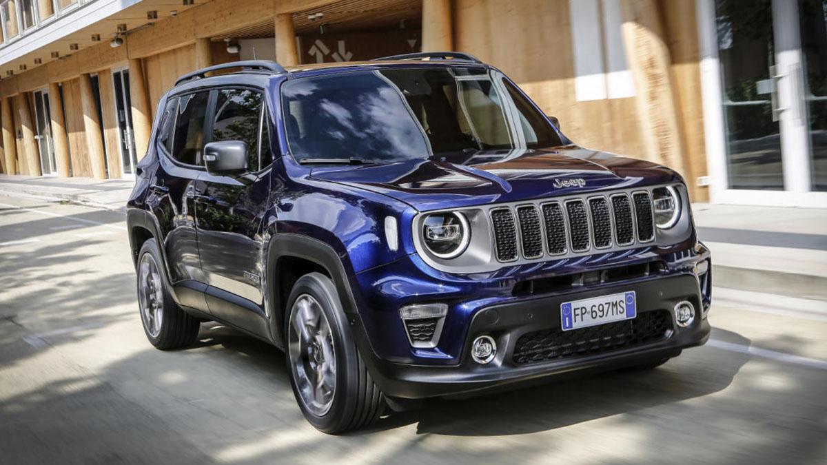 Jeep Renegade 2021, con 120 CV, bien equipado y con 3 años de mantenimiento, ¡por 16.600 euros!