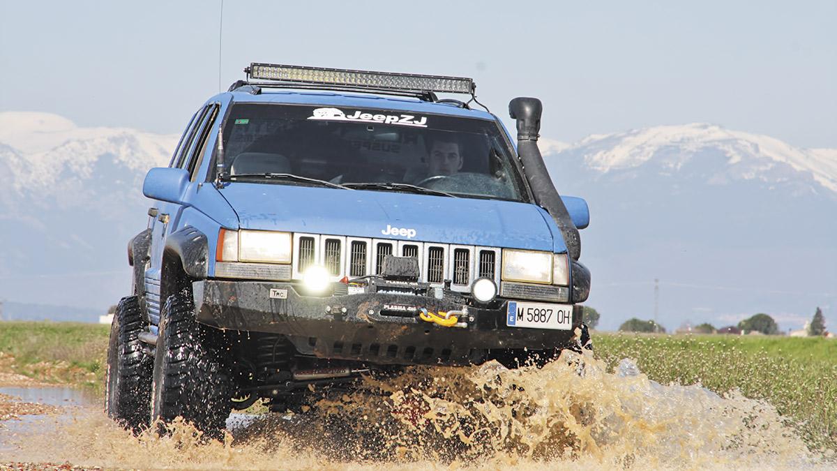 Jeep Grand Cherokee ZJ 4.0 Laredo: preparación in extremis