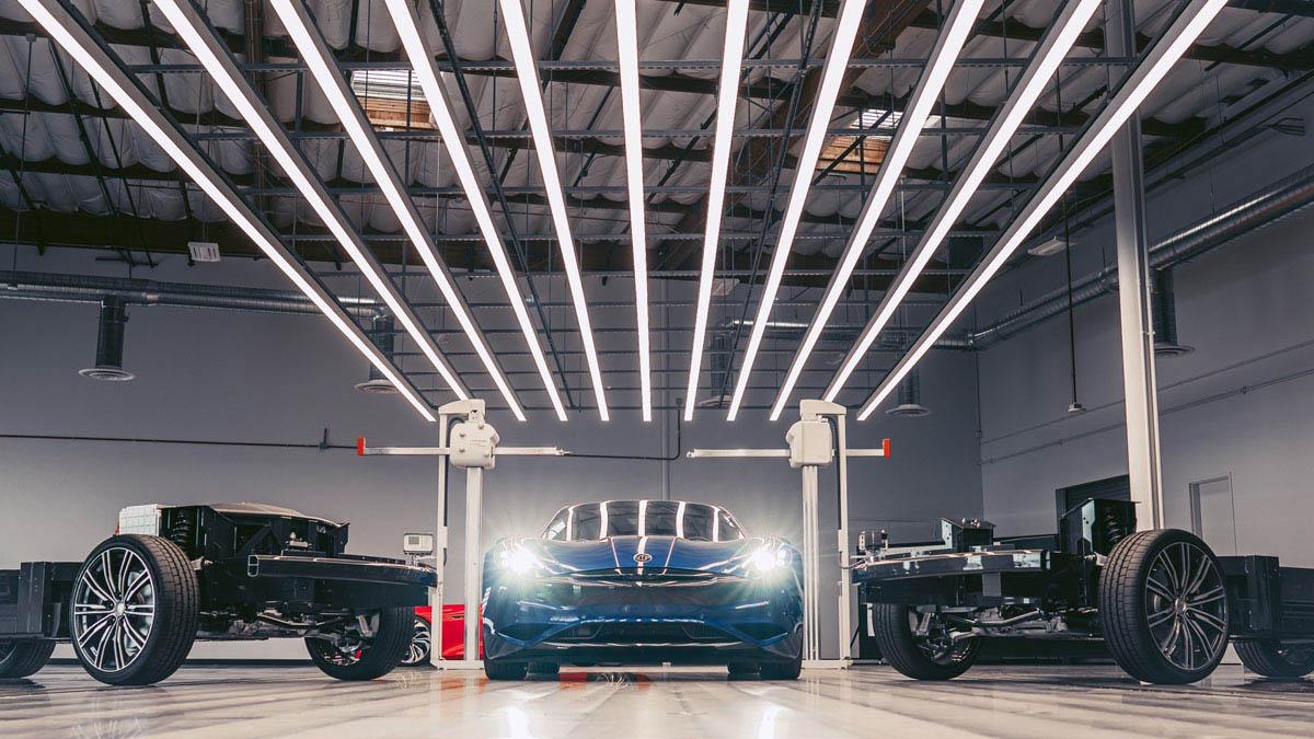 Karma Revero GTE: 100% eléctrico y con 644 km de autonomía