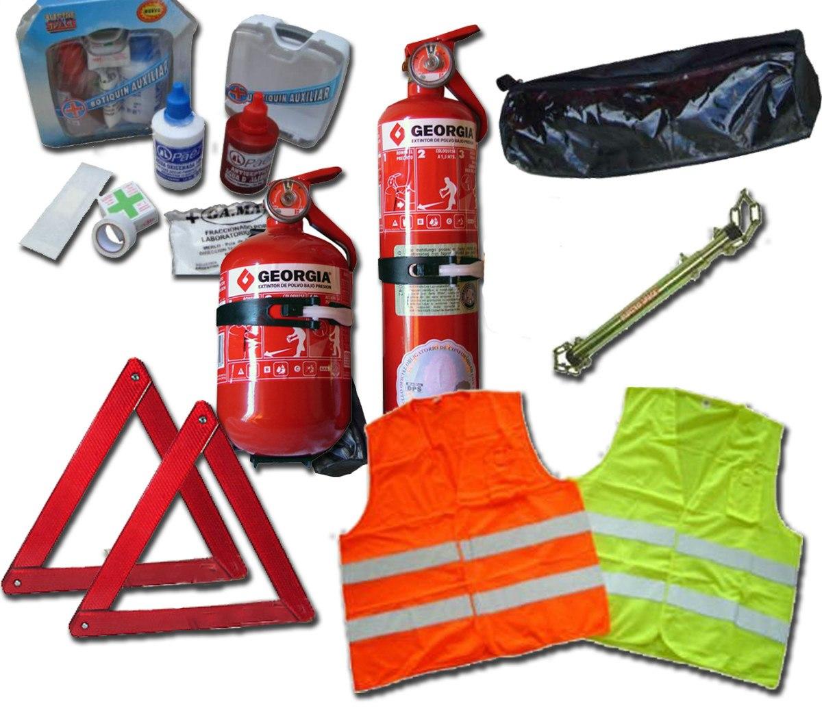 kit reglamentario de emergencia para el automovil 6 en 1 4005 mla1279514723292 f 1